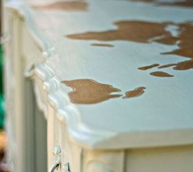 Diy Map Desk With Metallic Gold Paint Painted Furniture, Crafts, Painted  Furniture