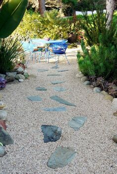 how to maintaining a gravel landscape, concrete masonry, diy, how to, landscape