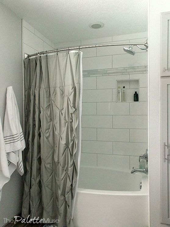 Master suite makeover and guest bath too hometalk for Contemporary guest bathroom ideas