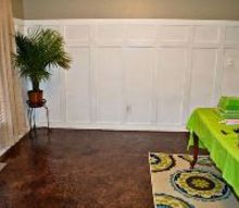 diy brown paper floors how to, diy, flooring, how to
