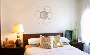 bronze lamp makeover, lighting, repurposing upcycling