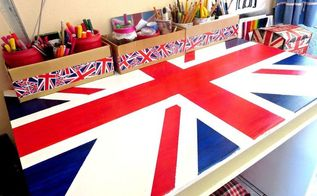 the anglophile s desk, painted furniture