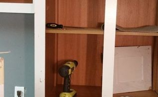 q how 2 take off cabinets off the wall in a mobile home, diy, home improvement, how to, kitchen cabinets