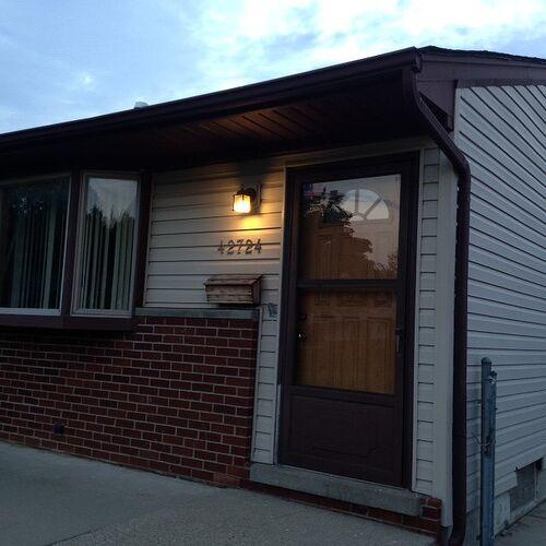 Red Front Door Brown House looking for color advice for exterior door | hometalk