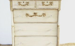 how to repair and transform a vintage dresser, how to, painted furniture