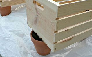 diy wooden crate shoe organizer, diy, organizing, woodworking projects