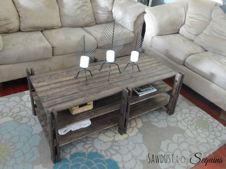 Arhaus Inspired Coffee Table Hometalk