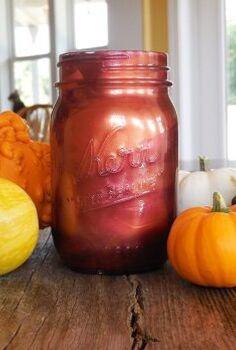 how to paint mason jars with nail polish, crafts, how to, mason jars, repurposing upcycling