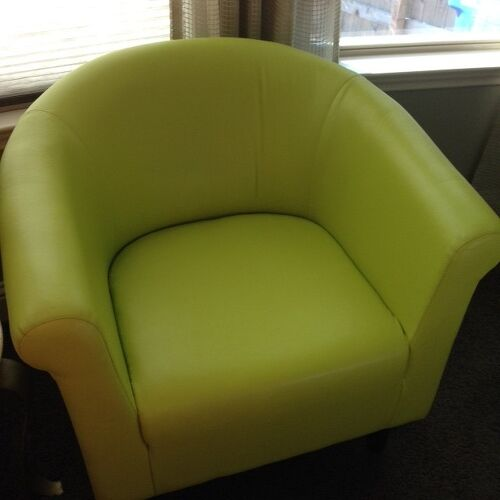 Changing the color of vinyl chairs hometalk for How to change color of furniture
