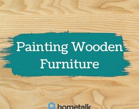 project guide painting wooden furniture, how to, painted furniture, repurposing upcycling