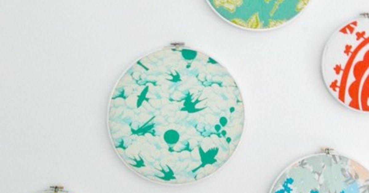 How to diy embroidery hoop art hometalk