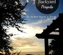 easy diy backyard pergola, decks, diy, how to, outdoor living, patio, woodworking projects