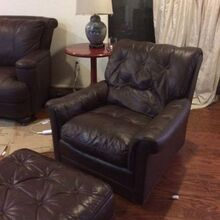 leather restoration on a budget rub n restore inc leather, cleaning tips, how to, painted furniture, repurposing upcycling
