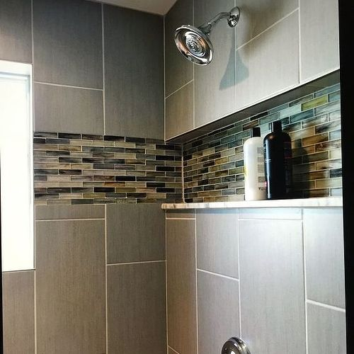 Tiling Bathroom Floor Or Walls First bathroom wall tiles | hometalk