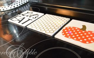 tile samples to pretty trivets, crafts