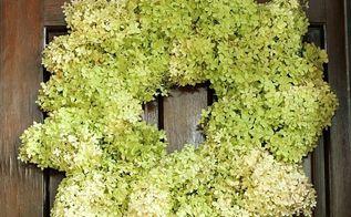 limelight hydrangea wreath tutorial, crafts, how to, hydrangea, wreaths
