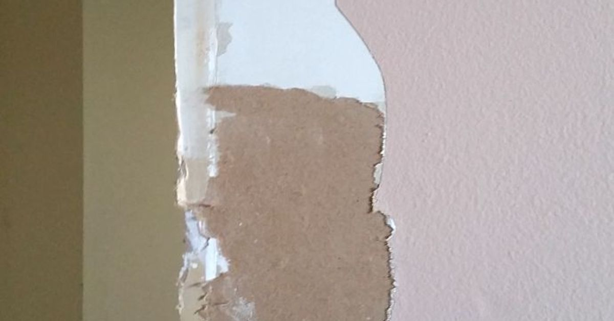 How To Fix Torn Drywall Paper Hometalk