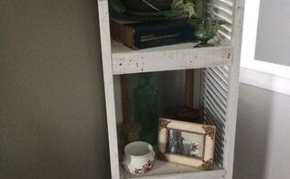 my uncles old shutters, home decor, repurposing upcycling, shelving ideas
