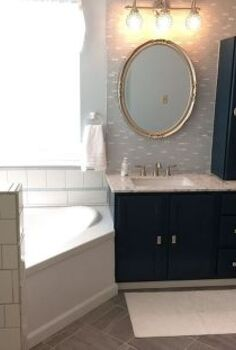 hip hip hooray a completed bathroom remodel, bathroom ideas, home improvement