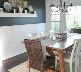 Farmhouse Table And Dining Room Makeover, Dining Room Ideas, Diy, Painted  Furniture,