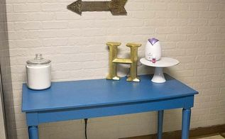 desk upcycle to kitchen island, kitchen design, kitchen island, painted furniture, repurposing upcycling
