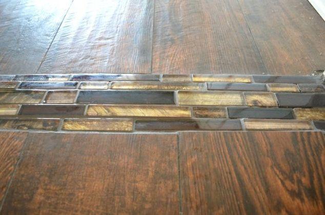 Transition Wood Floor To Tile Kitchen