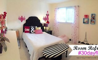 room refresh teen girls room 30dayflip, bedroom ideas, home decor, wall decor