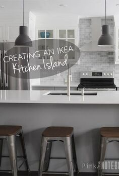 creating an ikea kitchen island, diy, kitchen design, kitchen island, woodworking projects