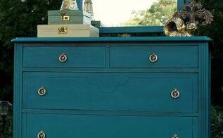 estherbelle blue dresser makeover winner of the country living fair, painted furniture