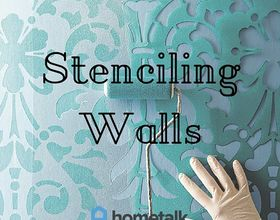 project guide stenciling walls, how to, painting, wall decor