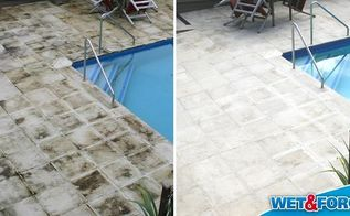 close your pool with wet forget outdoor for a hassle free clean, cleaning tips, home maintenance repairs, outdoor living, pool designs