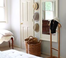 west elm inspired floating mirror, bedroom ideas, diy, home decor, wall decor, woodworking projects