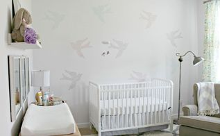 baby girl s nursery, bedroom ideas, wall decor