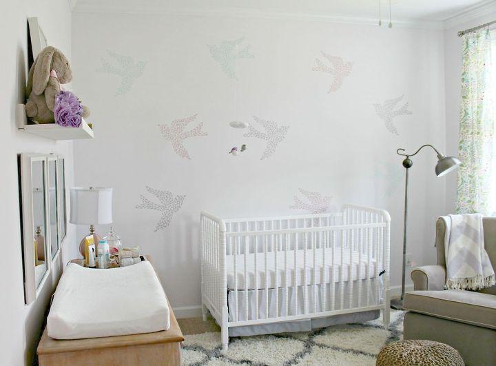 baby girl s nursery bedroom ideas wall decor - Wall Decor Bedroom Ideas