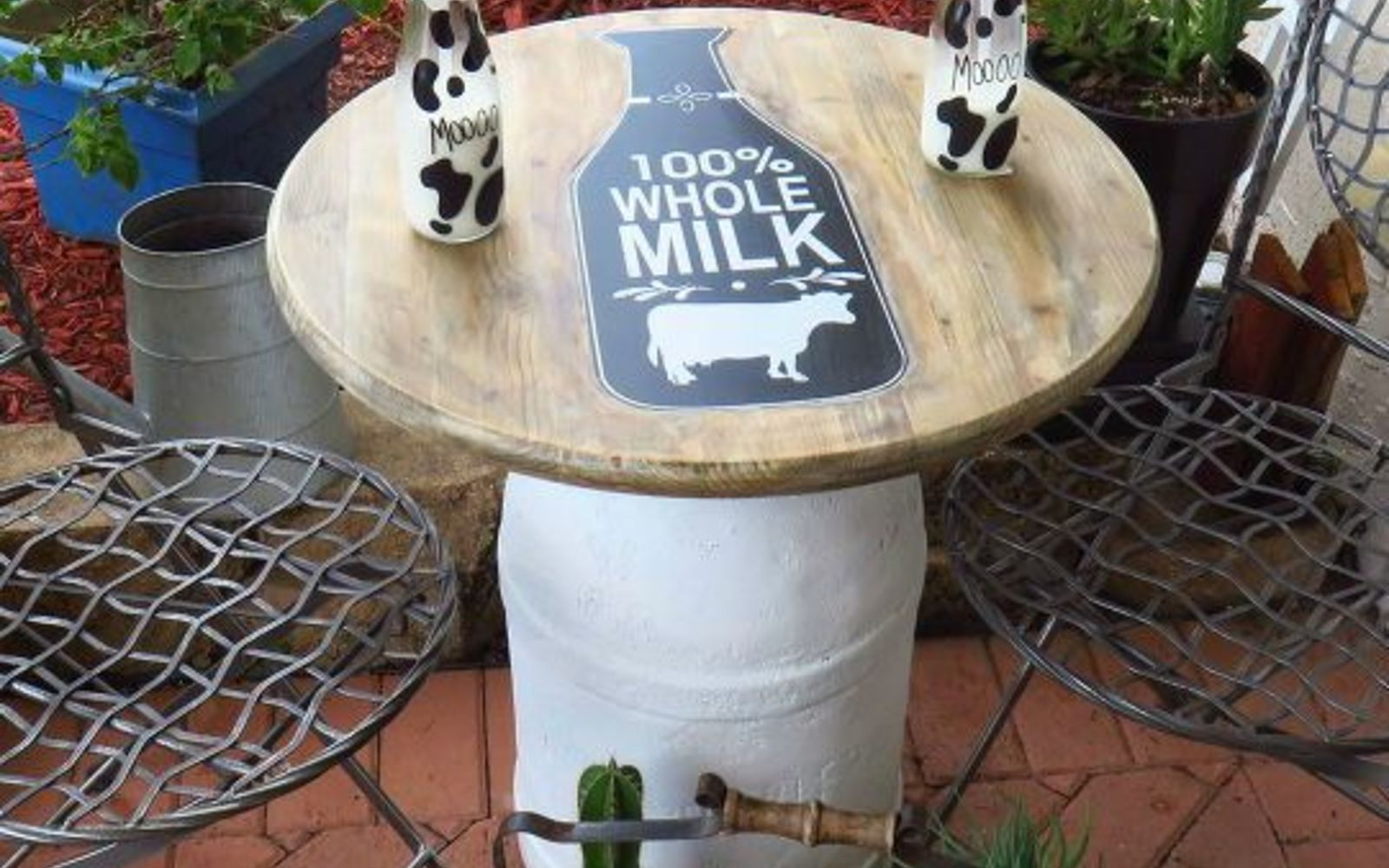11 Charming Things You Can Do With An Old Milk Can Hometalk