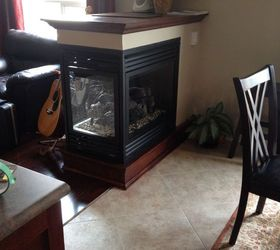 We Removed a Half Wall and Added a 3 Sided Fireplace | Hometalk