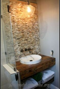 powder room is almost there but that s not all, bathroom ideas, countertops, diy, repurposing upcycling, small bathroom ideas, woodworking projects