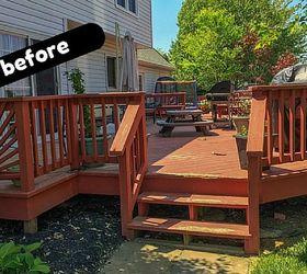 Good ... Deck Cover A Diy Outdoor Space Makeover Story Decks Diy Outdoor Living