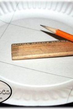 create a paper plate gift box, crafts, seasonal holiday decor