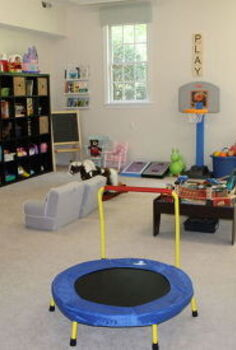fun organized playroom, entertainment rec rooms, organizing, storage ideas