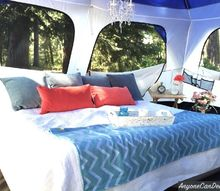 gone glamping a diy glamping trip, outdoor living