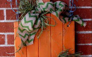 diy wall pumpkin project, crafts, repurposing upcycling, seasonal holiday decor