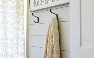 diy farmhouse bathroom, bathroom ideas, home decor, shelving ideas, small bathroom ideas, wall decor