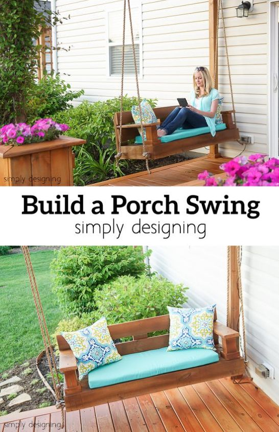 build a porch swing hometalk