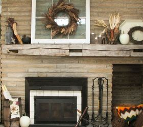 Autumn Inspiration & DIY Floating Mantel | Hometalk