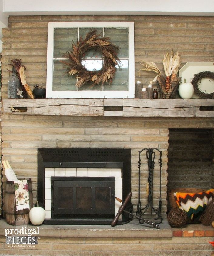 Autumn Inspiration DIY Floating Mantel Hometalk