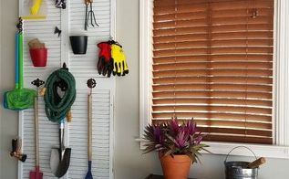 garden supply storage solution, garages, gardening, repurposing upcycling, storage ideas