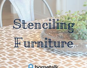 project guide stenciling furniture, how to, painted furniture