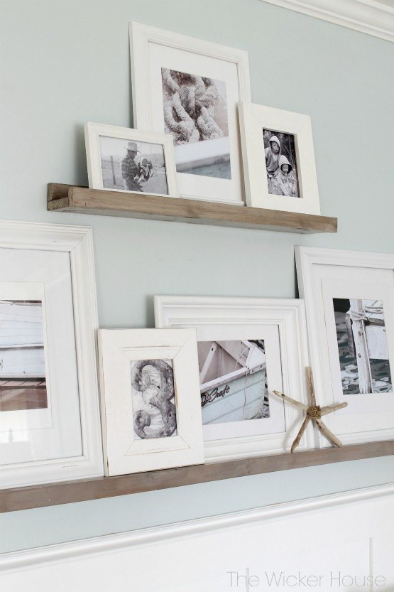 Easy Gallery Wall Picture Ledges Hometalk