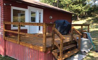 rejuvenation of decks, decks, home maintenance repairs